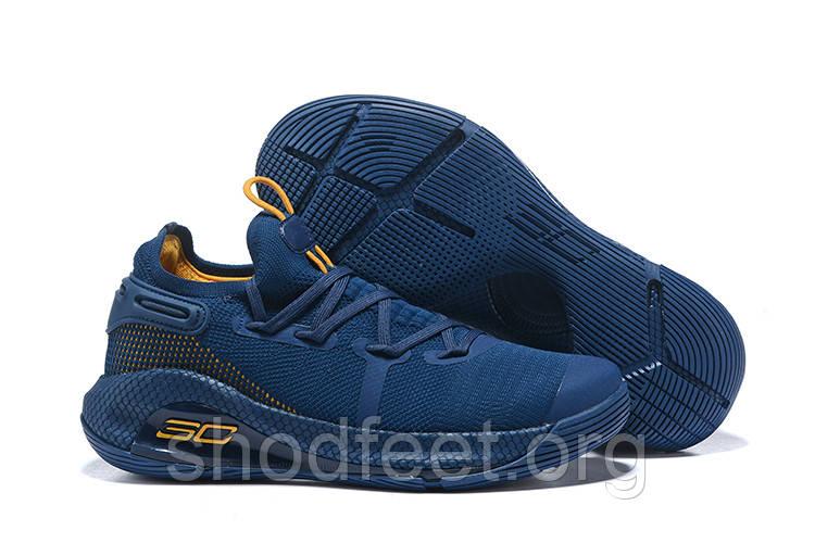 Мужские кроссовки Under Armour Curry 6 GS Blue