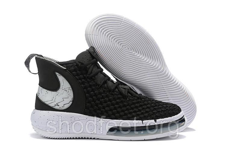 Баскетбольные кроссовки Nike AlphaDunk Pure Magic Black White