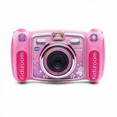 Детская цифровая фотокамера - KIDIZOOM DUO Pink VTech 80-170853