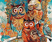 Картина по номерам Brushme 40х50 Волшебные совы (GX8849), фото 1