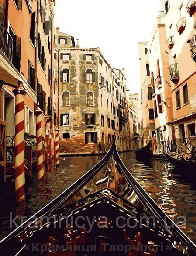 Картина по номерам Brushme 40х50 По каналам Венеции (GX8383)