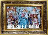 Икона Мария с ангелами, фото 4