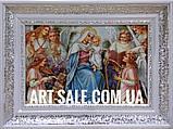 Икона Мария с ангелами, фото 3