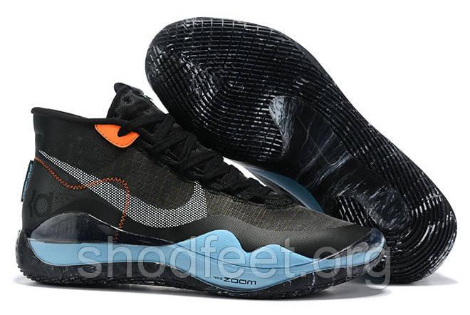 Мужские кроссовки Nike Zoom KD 12 EP Black Blue Orange