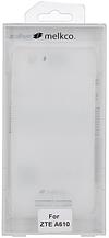 Силиконовый чехол для ZTE A610 MELKCO Poly Jacket TPU Transparent