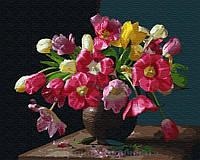 Картина по номерам Brushme 40х50 Красочные цветы (GX25929), фото 1