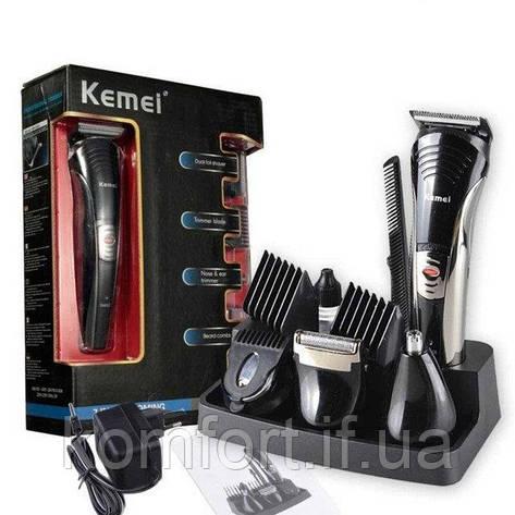 Аккумуляторный набор для стрижки Kemei KM-590A  7 в 1, фото 2