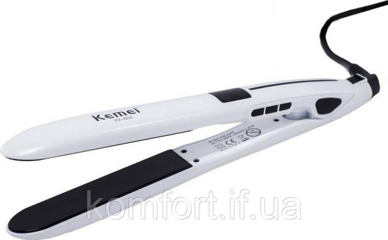 Утюжок выпрямитель для волос Kemei KM-2202