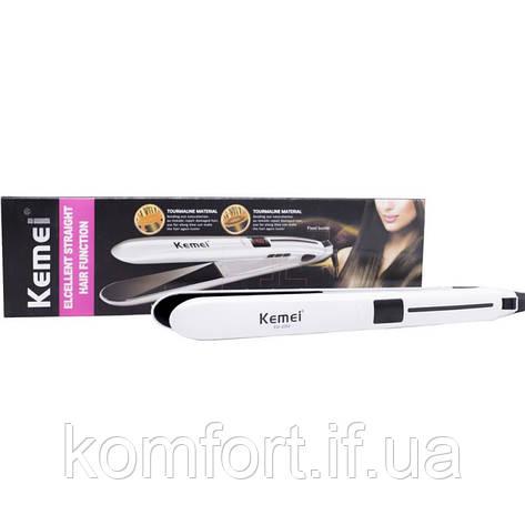 Утюжок выпрямитель для волос Kemei KM-2202, фото 2