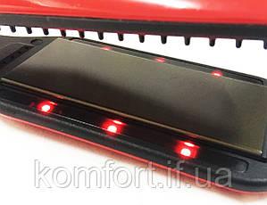 Утюжок выпрямитель для волос Kemei KM-6863, фото 3