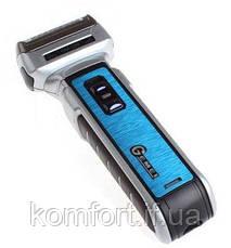 Аккумуляторная машинка для стрижки волос и бороды 3 в 1 триммер бритва Gemei GM-589, фото 3