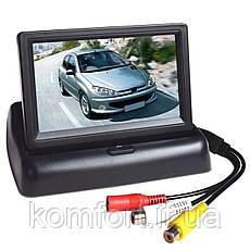 Складной автомобильный монитор 4,3'', фото 3