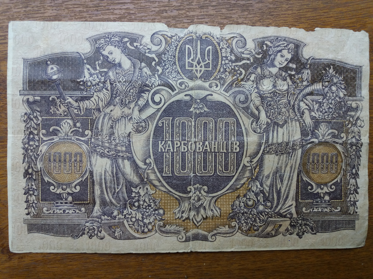 1000 карбованців 1920 рік Українська держава