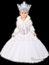 Детский карнавальный костюм Снежной Королевы Код 146