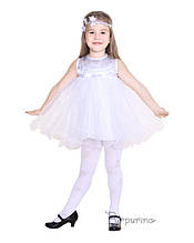 Детский карнавальный костюм Снежинки Код 9119