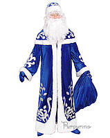 Карнавальный костюм для взрослых аниматоров Дед Мороз Арт.106