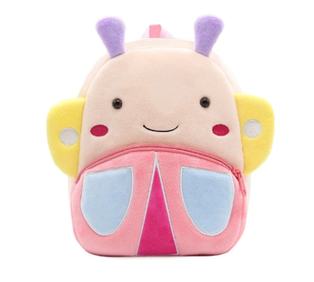 Рюкзак дитячий велюровий Метелик
