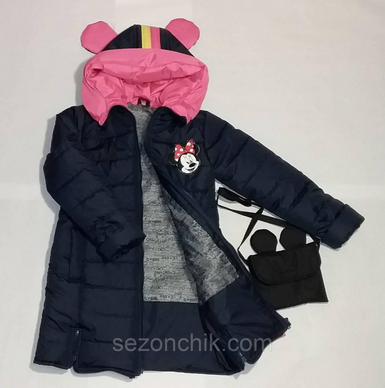 Модная детская куртка на девочек пальто