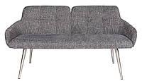 Кресло - банкетка OLIVA (Олива) рогожка цвет серый Nicolas (бесплатная доставка)