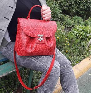 Размер меньше А4. Женские сумки из натуральной кожи с ремнем и ручкой для ношения в руке