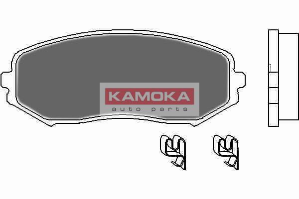 Колодки тормозные передние Suzuki Grand Vitara 05'-> (KAMOKA). JQ1018120