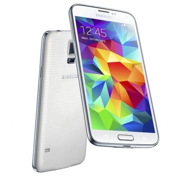 Смартфон Samsung Galaxy S5 16GB (Shimmery White)