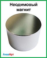 Неодимовый магнит D45*H25 (80кг)
