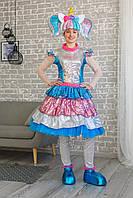 Карнавальный костюм для взрослых аниматоров Кукла L.O.L ЛОЛ Единоржка Lux