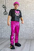 Карнавальный костюм для аниматоров L.O.L. Boy Pink (ЛОЛ мальчик)