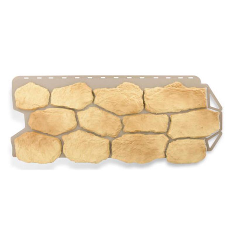Сайдинг фасадный «Бутовый камень», греческий