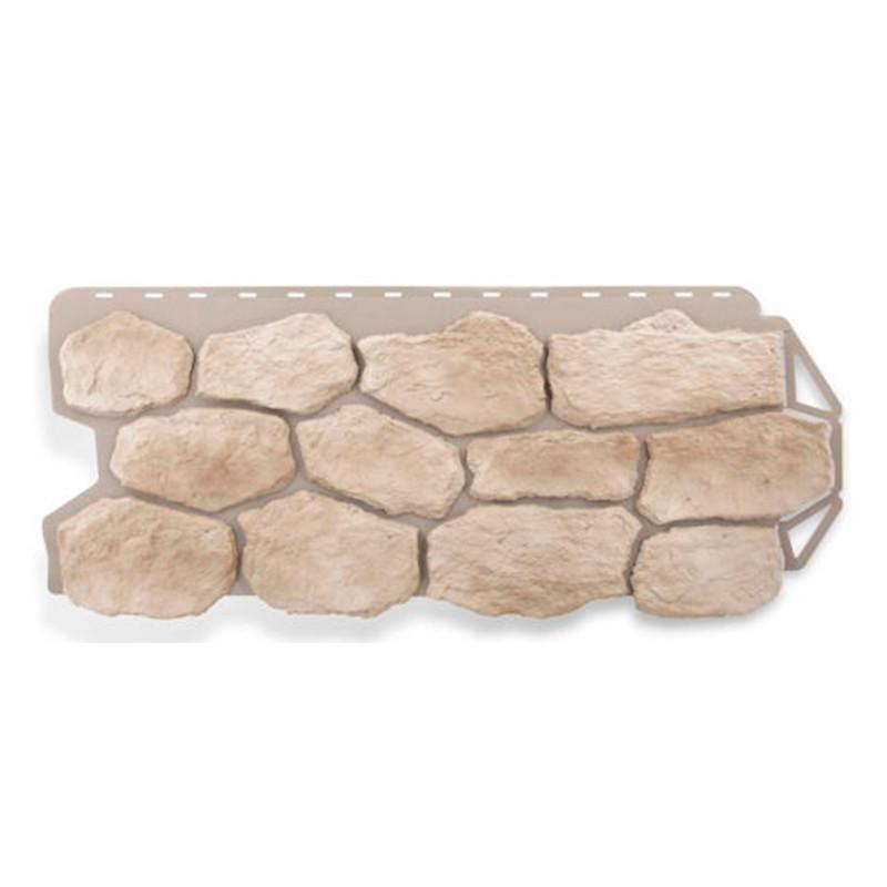 Сайдинг фасадный «Бутовый камень», нормандский