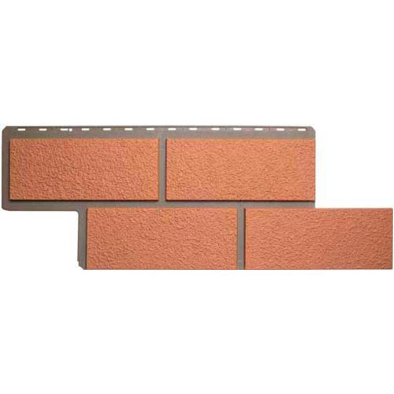 Сайдинг фасадный «Камень неаполитанский», персиковый