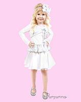 Детский карнавальный костюм Снежинки Код 2155