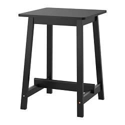 ИКЕА (IKEA) НОРРОКЕР, 403.390.04, Барный стол, черный, 74x74 см - ТОП ПРОДАЖ