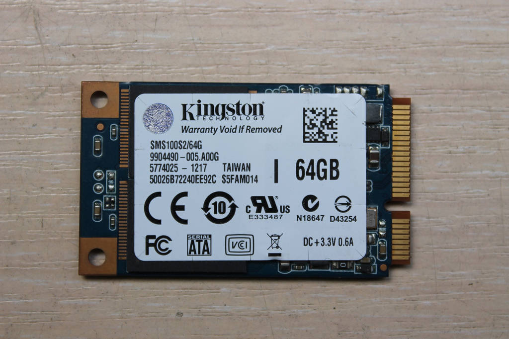 Жесткий диск Kingston SSDNow MS100 64GB (SMS100S2/64G)