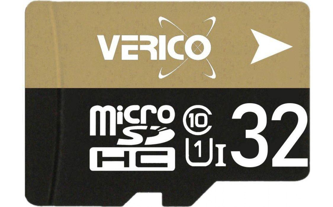 Карта памяти Verico MicroSDHC 32GB UHS-I Class 10 + SD adapter (1MCOV-MAH933-NN)