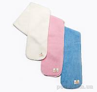 Флисовый шарф Модный карапуз 03-00545  цвет розовый 120 см