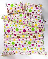 Комплект постельного белья Lotus Multi зеленый Семейный комплект