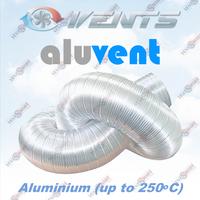 """АЛЮВЕНТ - алюминиевые полугибкие воздуховоды (""""гофра"""")"""