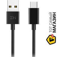 Кабель usb 2.0 тип a, usb тип c 1 ZMI USB to Type-C 1м, черный (AL701)