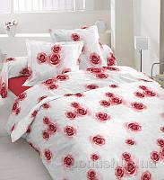 Комплект постельного белья TM Nostra Бязь Люкс 20-0620 red Полуторный комплект