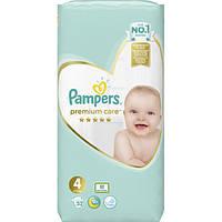 Подгузники Pampers Premium Care Размер 4 (Maxi) 9-14 кг, 52 шт