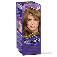 Крем-краска для волос стойкая Wellaton 7.3 Лесной орех