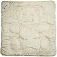 Одеяло детское шерстяное Billerbeck Teddy  кремовое 80х80 см вес 280 г