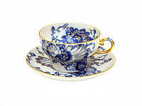 Чашка чайная с блюдцем И.Ф.З. Шатровая Поющий сад 230 мл 10298