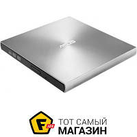 Привод ASUS ZenDrive U9M DVD±R/RW USB, Ultra Slim, Silver (SDRW-08U9M-U)