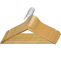 Набор вешалок с нарезами для одежды МД 10 шт RE05210/10