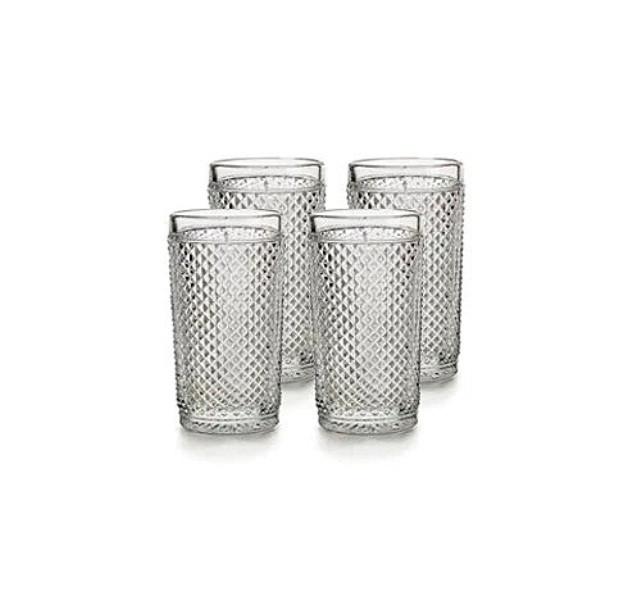 Набор стаканов Vista Alegre Bicos 330 мл 4 шт прозрачных AB21/003259200004