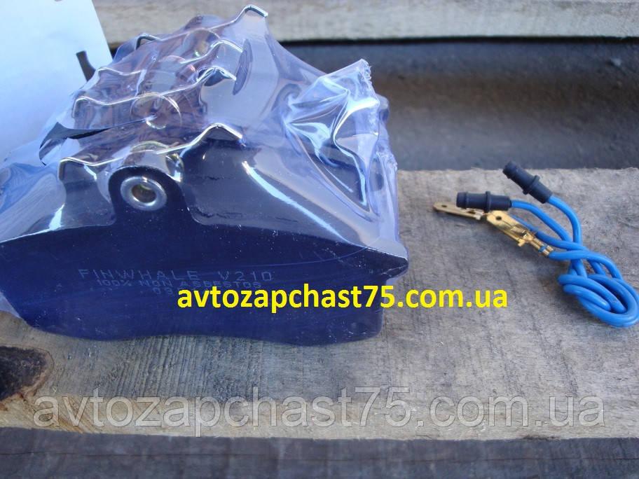 Колодка тормозная передняя с проводами для датчика износа Ваз 2110,  2111, 2112, 2113, 2114, 2115 , 1117-1119