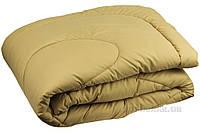 Зимнее антиаллергенное одеяло Руно микрофибра бежевое 172х205 см
